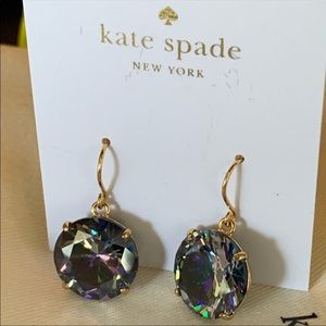 Kate Spade! Crystal Drop Earrings